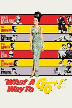 Best Comedy Movies of 1964 : What a Way to Go!
