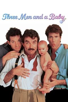 Best Family Movies of 1987 : 3 Men and a Baby