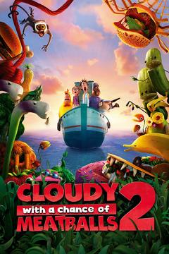 Best Animation Movies of 2013 : Cloudy with a Chance of Meatballs 2