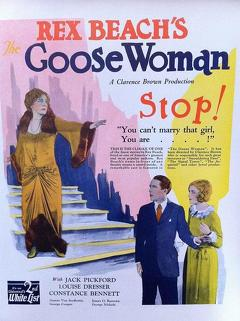 Best Drama Movies of 1925 : The Goose Woman