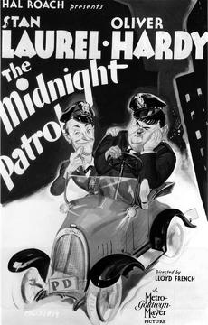 Best Comedy Movies of 1933 : The Midnight Patrol
