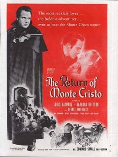 Best Action Movies of 1946 : The Return of Monte Cristo
