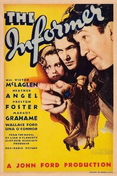 Best Crime Movies of 1935 : The Informer