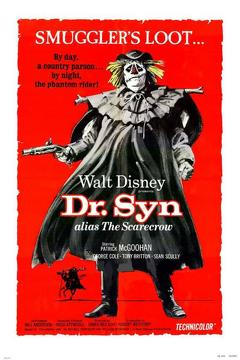 Best Adventure Movies of 1963 : Dr. Syn, Alias the Scarecrow