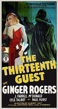 Best Mystery Movies of 1932 : The Thirteenth Guest