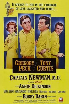 Best Comedy Movies of 1963 : Captain Newman, M.D.
