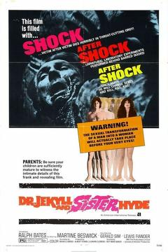 Best Horror Movies of 1971 : Dr Jekyll & Sister Hyde