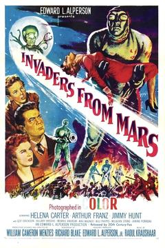 Best Science Fiction Movies of 1953 : Invaders from Mars