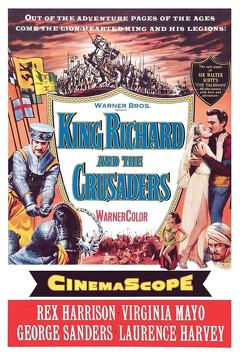 Best History Movies of 1954 : King Richard and the Crusaders