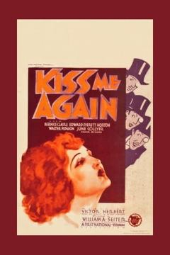Best Music Movies of 1931 : Kiss Me Again