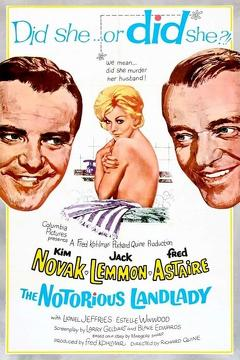 Best Thriller Movies of 1962 : The Notorious Landlady