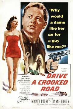 Best Thriller Movies of 1954 : Drive a Crooked Road