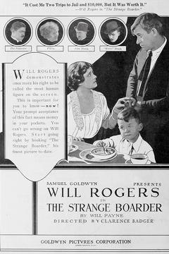 Best Crime Movies of 1920 : The Strange Boarder