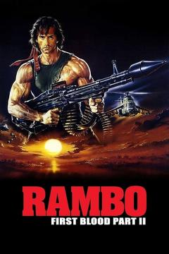 Best Thriller Movies of 1985 : Rambo: First Blood Part II