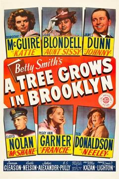 Best Drama Movies of 1945 : A Tree Grows in Brooklyn