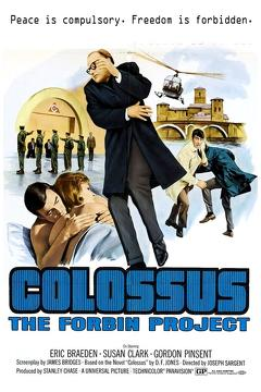 Best Science Fiction Movies of 1970 : Colossus: The Forbin Project