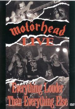 Best Documentary Movies of 1991 : Motörhead: Everything Louder Than Everyone Else