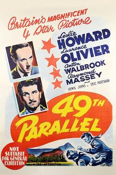 Best Adventure Movies of 1941 : 49th Parallel