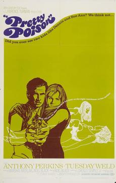 Best Crime Movies of 1968 : Pretty Poison