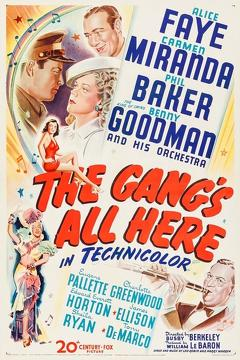 Best Music Movies of 1943 : The Gang's All Here