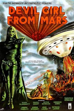 Best Science Fiction Movies of 1954 : Devil Girl from Mars