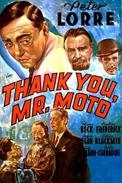 Best Action Movies of 1937 : Thank You, Mr. Moto
