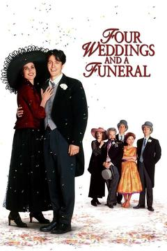 Best Comedy Movies of 1994 : Four Weddings and a Funeral