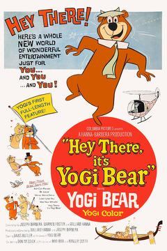 Best Family Movies of 1964 : Hey There, It's Yogi Bear