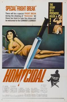 Best Mystery Movies of 1961 : Homicidal