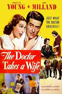 Best Comedy Movies of 1940 : The Doctor Takes a Wife