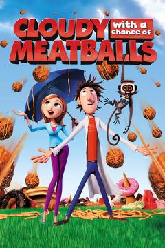 Best Family Movies of 2009 : Cloudy with a Chance of Meatballs