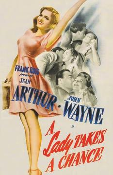 Best Western Movies of 1943 : A Lady Takes a Chance