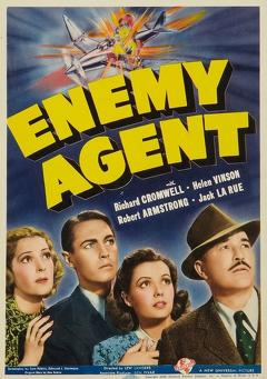 Best Mystery Movies of 1940 : Enemy Agent