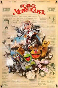 Best Mystery Movies of 1981 : The Great Muppet Caper
