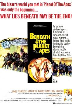 Best Adventure Movies of 1970 : Beneath the Planet of the Apes