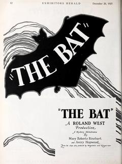 Best Horror Movies of 1926 : The Bat