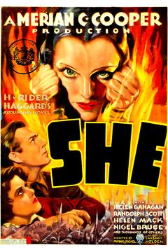 Best Adventure Movies of 1935 : She
