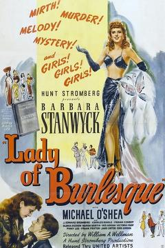 Best Mystery Movies of 1943 : Lady of Burlesque