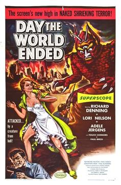 Best Horror Movies of 1955 : Day the World Ended