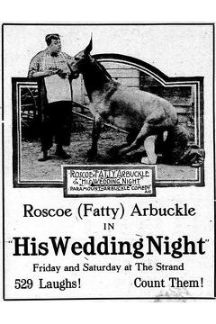 Best Comedy Movies of 1917 : His Wedding Night