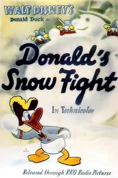 Best Animation Movies of 1942 : Donald's Snow Fight