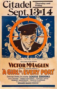 Best Drama Movies of 1928 : A Girl in Every Port