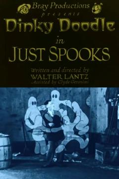 Best Animation Movies of 1925 : Just Spooks