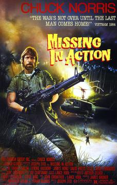 Best Adventure Movies of 1984 : Missing in Action
