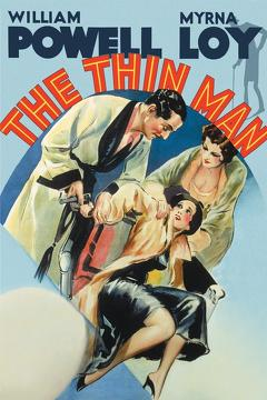 Best Comedy Movies of 1934 : The Thin Man