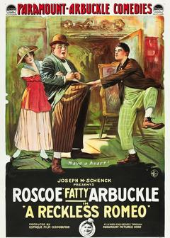 Best Comedy Movies of 1917 : A Reckless Romeo