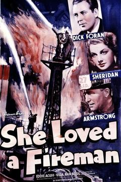 Best Action Movies of 1937 : She Loved a Fireman