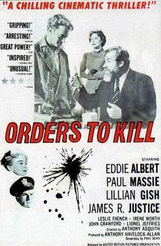 Best History Movies of 1958 : Orders to Kill