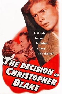 Best Romance Movies of 1948 : The Decision of Christopher Blake
