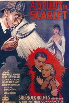 Best Thriller Movies of 1933 : A Study in Scarlet